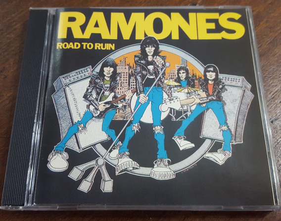 Ramones - Road To Ruin Cd The Remaster Series Brasilero