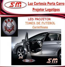 Luz De Cortesia Projetor Porta Logomarca Time De Corinthians