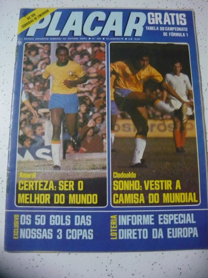 Revista Placar 403 Tabel F1 Londrina Copersucar Guarani 1978