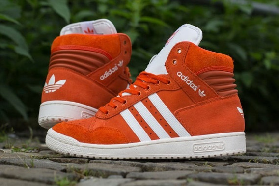Tênis adidas Star Laranja - Original N. 39 - Uk - Londres