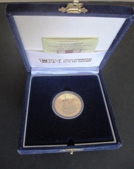 B3126 Moeda De Ouro Do Vaticano 50 Euros De 2002 Fc Erradica