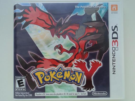 Pokemon Y Version - Nintendo 3ds - Aproveite 12x Sem Juros !