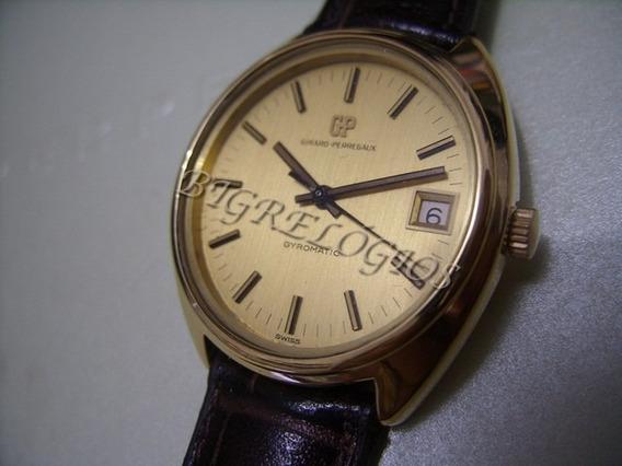 Girard Perregaux Gyromatic Ouro 18k Maçiço