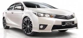 Kit Spoylers Toyota Corolla Altis 2014 2015 2016 2017 Na Cor