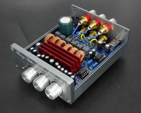 Kit Placa Amplificador 2.1 C/ Gabinete 200w Rms 50w+50w+100w