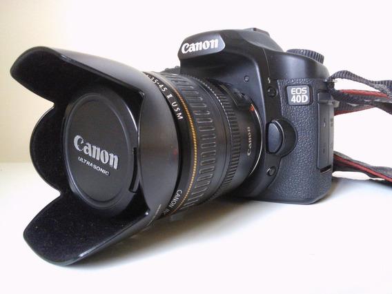 Canon 40d + Lente 28-105mm Perfeita
