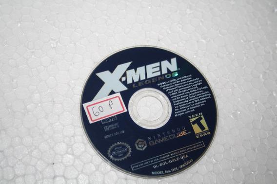 Gamecube Jogo X - Men Legends Usado Carta Registrada