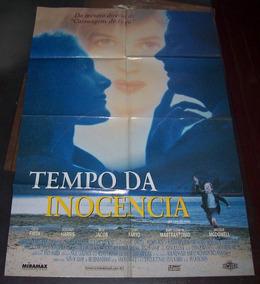 Cartaz/poster Cinema Filme Tempo Da Inocência