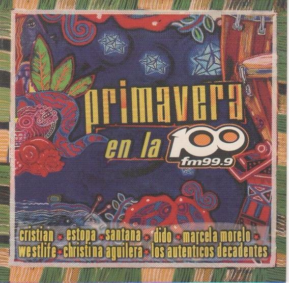 Primavera En La 100 Natalia Oreiro Marcela Morelo Cd Orig