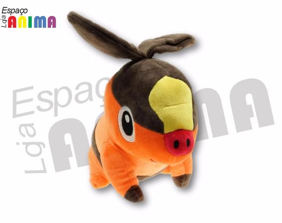 Pelúcia Tepig Pokémon Center Ash