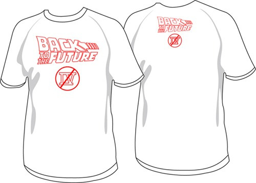 Remeras No Back To The Future 4 - No Volver Al Futuro 4