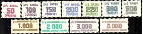 Série Completa Nova Dos Selos De Cifras R-633-43 - 1985/86