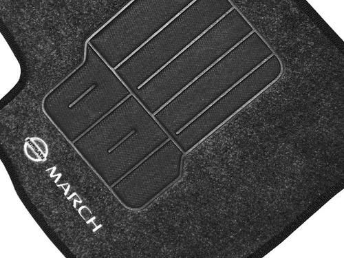 Tapete Automotivo Personalizado Nissan March
