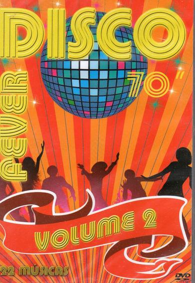 Dvd Disco Fever 70 Volume 2 - Clipes - Novo Original Lacrado