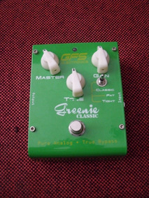 Pedal Gfs Greenie Classic Overdrive