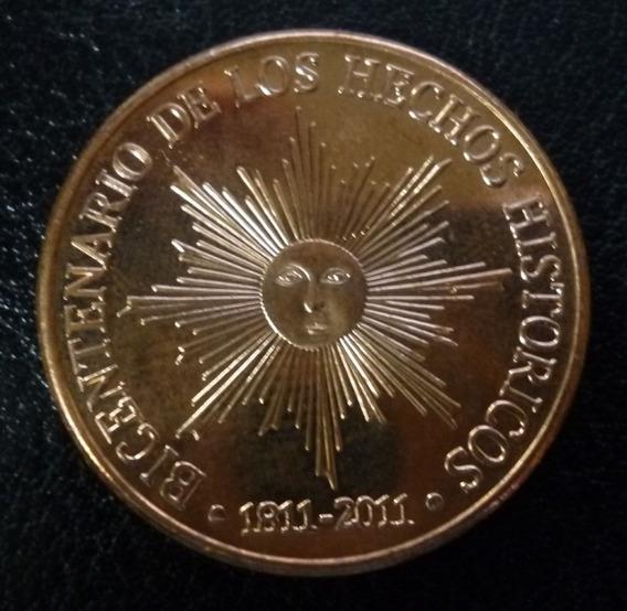 Uruguay Moneda Bicentenario Hechos Históricos 50 Pesos 2011