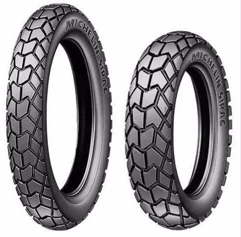 Par Pneu 90/90-19 + 110/90-17 Michelin Sirac Bros 125 - 150