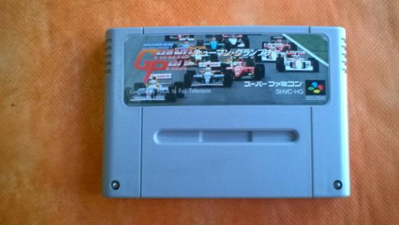 Jogo Super Nes Human Grand Prix F1 Original Frete Grátis