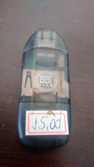 Leitor Usb Cartão Camera Digital Marca Ggi. Envio Td.brasil
