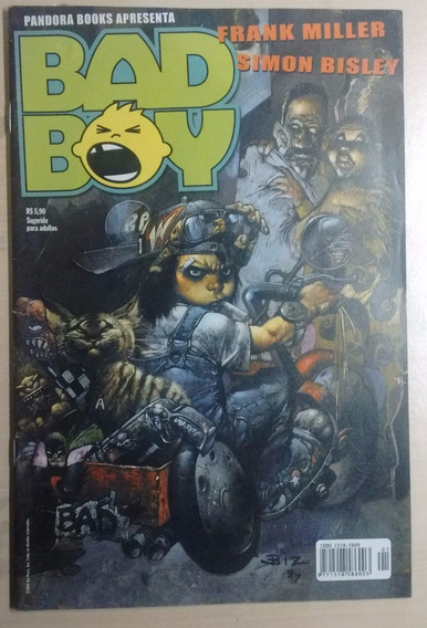 Bad Boy De Frank Miller E Simon Bisley Pandora Books 2000
