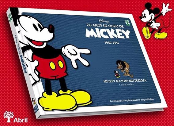 Os Anos De Ouro De Mickey 1930 1931 - Bonellihq Cx374 G18