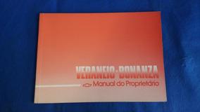 Manual Proprietário Gm Veraneio Bonanza 1991 *digitalizado*
