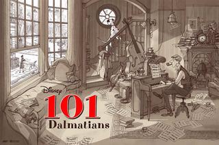 101 Dalmatas Pôster
