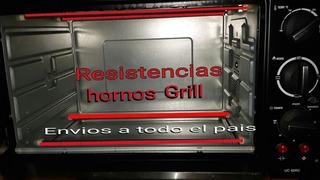 Resistencias Vela Hornos Grill Electricos De 36 Cm A 51cm#07