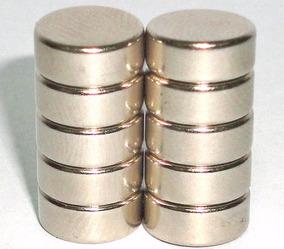 Imas De Neodímio 10 Peças - 10mm X 4mm - Super Forte