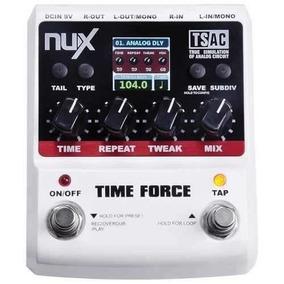 Pedal De Efeito Time Force Delay Nux Nfa3559