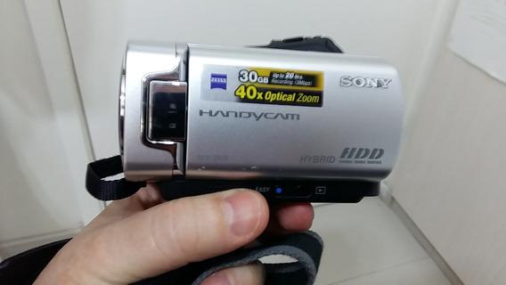 Filmadora Sony Dcr-sr45 Handycam + Case Couro ¿ Frete Grátis