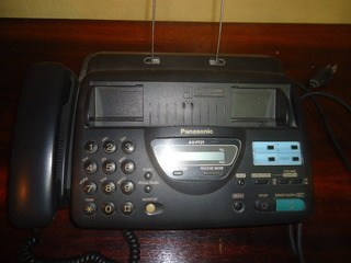 Fax Telefone Panasonic Kx Ft21 Funcionando Otimo Com Manual