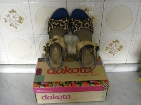 Sandália De Salto Dakota N.39 Nova Na Caixa Linda!! (g08)