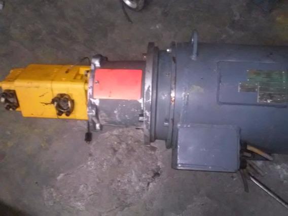 Motor Aleman 30 Hp Con 2 Bombas Hidraulicas. Flender