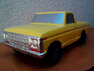 Duravit Ford F 100 1978 Grande Restaurada Amarilla Excelente
