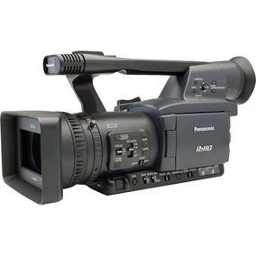 Filmadora Panasonic Hpx 170 + 3 Baterias + Case Para Camera