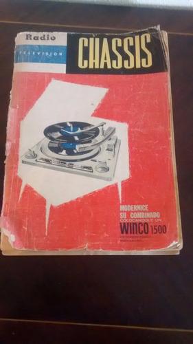 Libro Chassis  - Winco 1500 (231