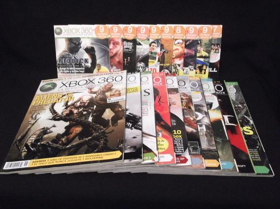 Colección De 54 Revistas Xbox 360 Con Dvd