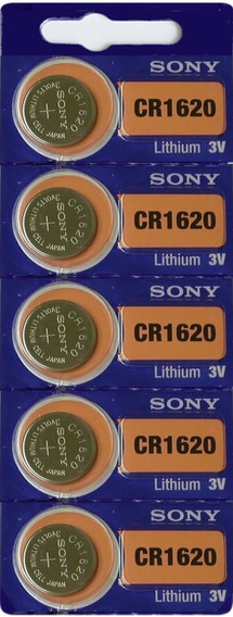 Bateria Sony Cr1620 Lithium 3v   Cart C/05 Pilha