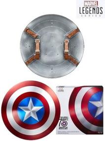 Replica De Metal Do Escudo Do Capitão America