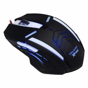 Mouse Gamer Tecdrive Xfire Shinigami 3200 Dpi 7 Botões -azul