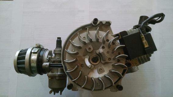 Motor 49cc/50cc 2 Tempos Mini Moto E Quadriciclo S/ Partida