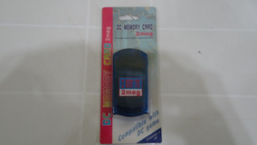 Memory Card - Dreamcast - 2meg - Completo!