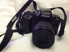 Camera Nikon F50 (utiliza Filme Ao Invés De Cartão De Mem.)