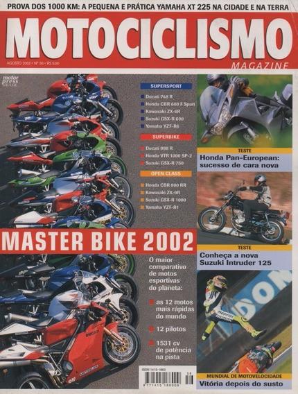 Motociclismo N°56 Master Bike 2002 Intruder 125 Yamaha Xt225