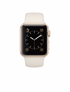 Apple Watch Sport 38mm Gold Aluminum Case Con Banda Sport