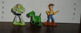 Disney - Toy Story - Lote Miniaturas Top Cau
