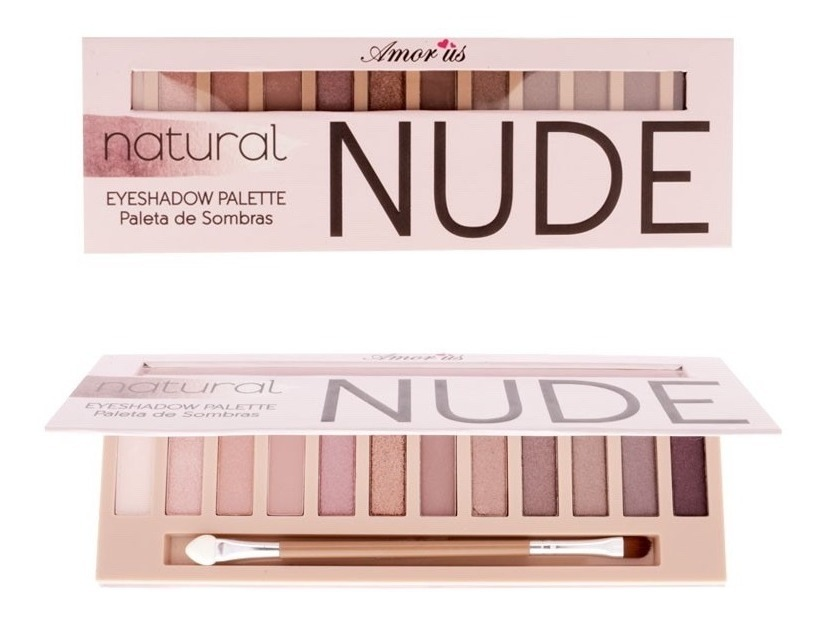 Paleta De Sombras Amor Us Nude Colección Basic Y Natural