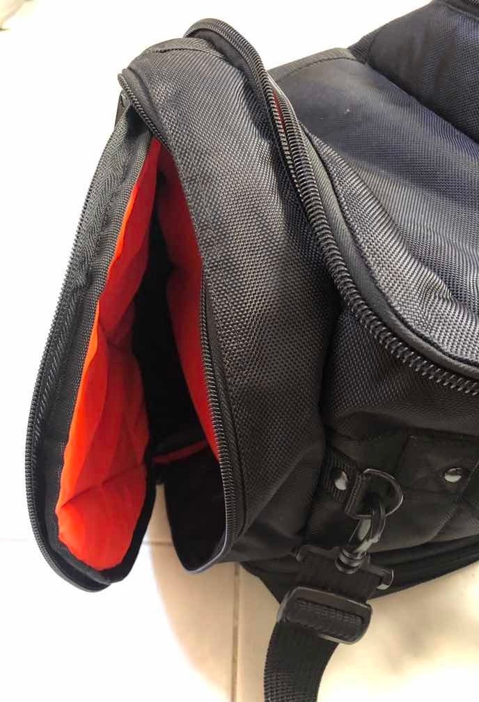 Mochila Casco Duro* Moto Viagem Notebook Capacete Max