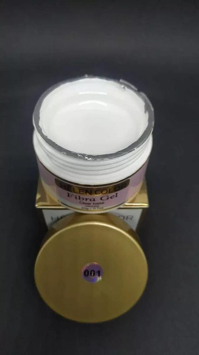 Gel Helen Color Fiber 20g Acrigel Fibra Porcelana Capa T3